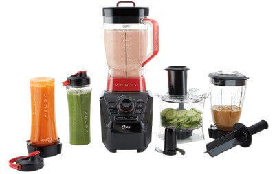 Oster Versa Pro BLSTVB-104-000 Series Blender with Food Processor Attachment