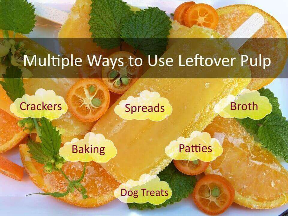 What to do with left over juice pulp