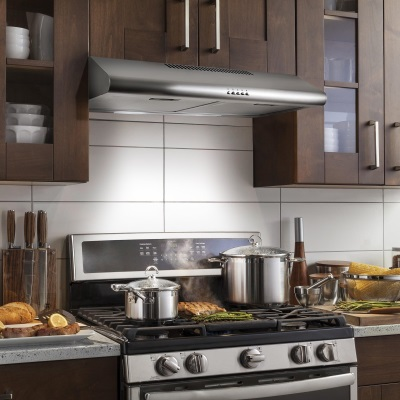 how does a recirculating range hood work