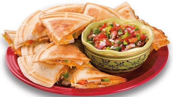 hamilton beach quesadilla maker makes delicious quesadillas