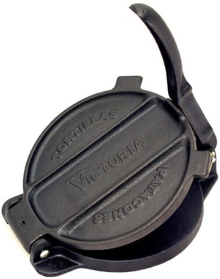 Victoria 6.5 Inch cast iron tortilla press